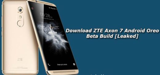Download ZTE Axon 7 Android Oreo Beta Build [Leaked]