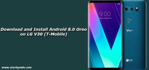 Download and Install Android 8.0 Oreo on LG V30 (T-Mobile)