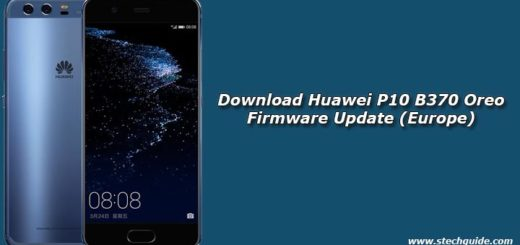 Download Huawei P10 B370 Oreo Firmware Update (Europe)