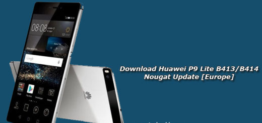 Download Huawei P9 Lite B413/B414 Nougat Update [Europe]