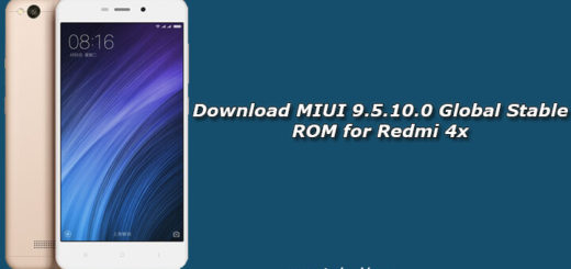 Download MIUI 9.5.10.0 Global Stable ROM for Redmi 4x