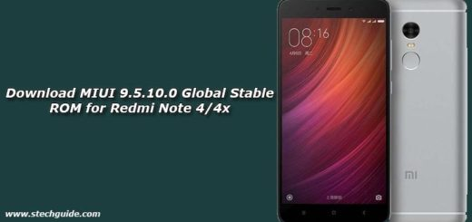 Download MIUI 9.5.10.0 Global Stable ROM for Redmi Note 4/4x