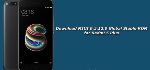 Download MIUI 9.5.12.0 Global Stable ROM for Redmi 5 Plus