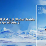 Download MIUI 9.6.1.0 Global Stable ROM for Mi Mix 2