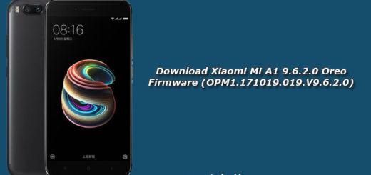 Download Xiaomi Mi A1 9.6.2.0 Oreo Firmware (OPM1.171019.019.V9.6.2.0)
