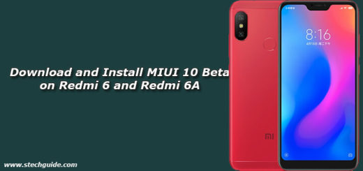 Download and Install MIUI 10 Beta on Redmi 6 and Redmi 6A