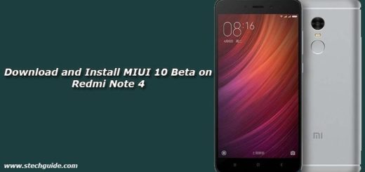 Download and Install MIUI 10 Beta on Redmi Note 4