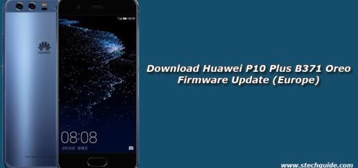 Download Huawei P10 Plus B371 Oreo Firmware Update (Europe)