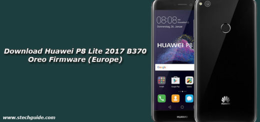 Download Huawei P8 Lite 2017 B370 Oreo Firmware (Europe)