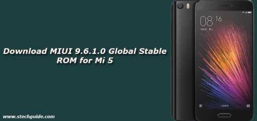 Download MIUI 9.6.1.0 Global Stable ROM for Mi 5
