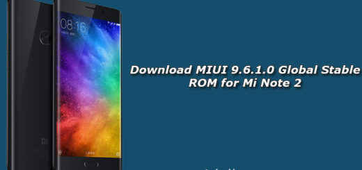 Download MIUI 9.6.1.0 Global Stable ROM for Mi Note 2