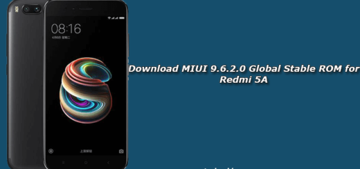 Download MIUI 9.6.2.0 Global Stable ROM for Redmi 5A