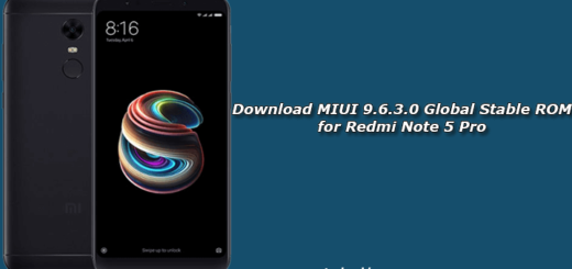 Download MIUI 9.6.3.0 Global Stable ROM for Redmi Note 5 Pro