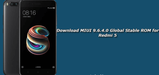 Download MIUI 9.6.4.0 Global Stable ROM for Redmi 5