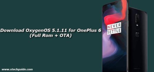 Download OxygenOS 5.1.11 for OnePlus 6 (Full Rom + OTA)