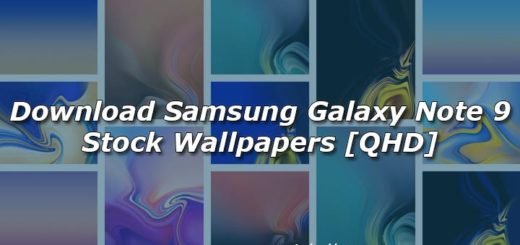 Download Samsung Galaxy Note 9 Stock Wallpapers [QHD]