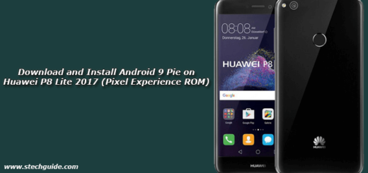 Download and Install Android 9 Pie on Huawei P8 Lite 2017 (Pixel Experience ROM)