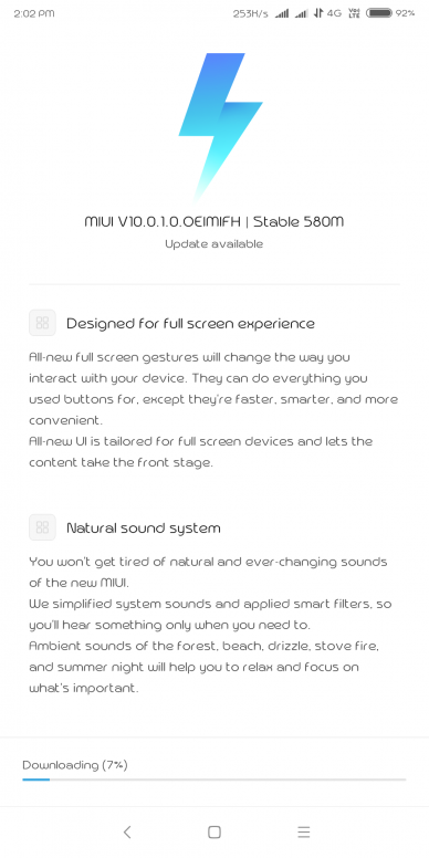 MIUI 10 Global Stable ROM for Redmi Note 5 pro