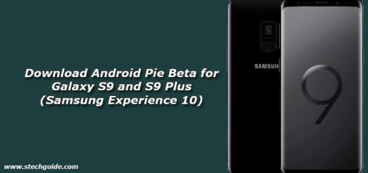 Download Android Pie Beta for Galaxy S9 and S9 Plus (Samsung Experience 10)