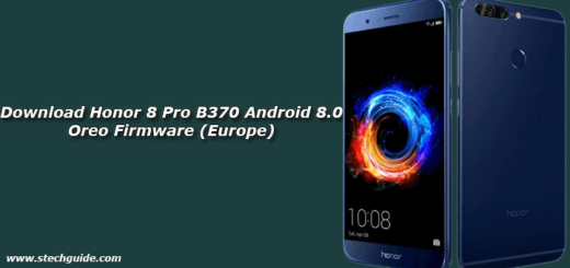 Download Honor 8 Pro B370 Android 8.0 Oreo Firmware (Europe)
