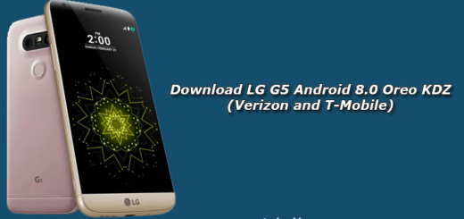 Download LG G5 Android 8.0 Oreo KDZ (Verizon and T-Mobile)