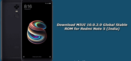 Download MIUI 10.0.2.0 Global Stable ROM for Redmi Note 5 (India)