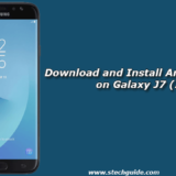 Download and Install Android 8.1 Oreo on Galaxy J7 (2017)