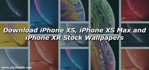 Download iPhone XS, iPhone XS Max and iPhone XR Stock Wallpapers