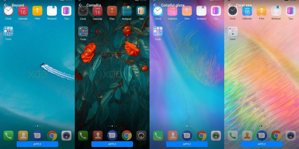 Download Huawei Mate 20 Themes for all Huawei and Honor Devices