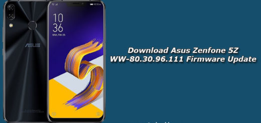 Download Asus Zenfone 5Z WW-80.30.96.111 Firmware Update