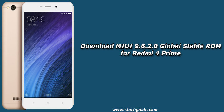Download MIUI 9.6.2.0 Global Stable ROM for Redmi 4 Prime