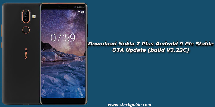 Download Nokia 7 Plus Android 9 Pie Stable OTA Update (build