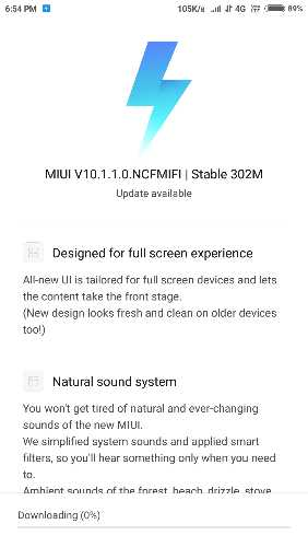 Download MIUI 10 1 1 0 Global Stable ROM for Redmi Note 4/4x