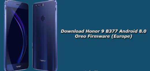 Download Honor 9 B377 Android 8.0 Oreo Firmware (Europe)