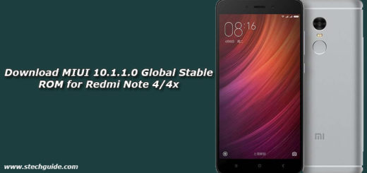 Download MIUI 10.1.1.0 Global Stable ROM for Redmi Note 4/4x