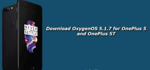Download OxygenOS 5.1.7 for OnePlus 5 and OnePlus 5T