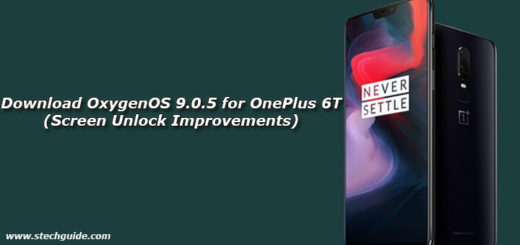 Download OxygenOS 9.0.5 for OnePlus 6T (Screen Unlock Improvements)