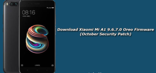 Download Xiaomi Mi A1 9.6.7.0 Oreo Firmware (October Security Patch)