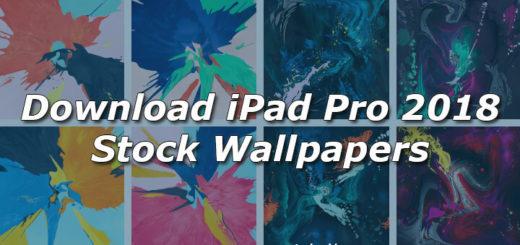 Download iPad Pro 2018 Stock Wallpapers