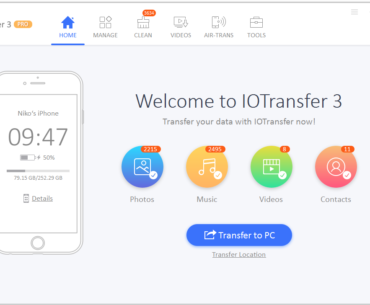 Download IOTransfer 3 for Windows to Manage your iPhone and iPad