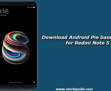 Download Android Pie based OxygenOS for Redmi Note 5 Pro