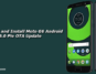 Download and Install Moto G6 Android 9.0 Pie OTA Update