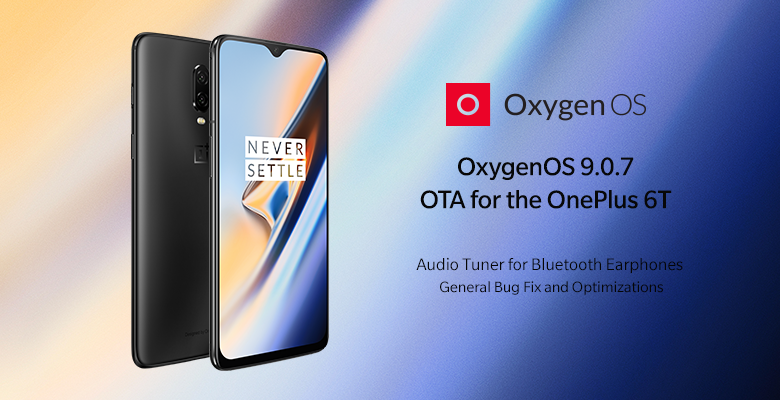Download OxygenOS 9.0.7 for OnePlus 6T