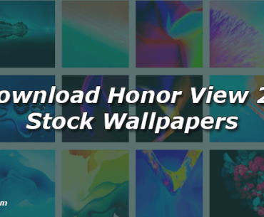 Download Honor View 20 Stock Wallpapers