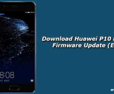 Download Huawei P10 B384 Oreo Firmware Update (Europe)