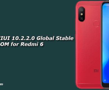 Download MIUI 10.2.2.0 Global Stable ROM for Redmi 6
