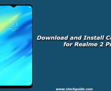 Download and Install ColorOS 5.2 for Realme 2 Pro