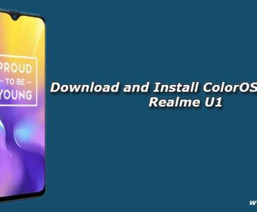 Download and Install ColorOS 5 2 1 for Realme U1