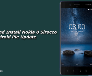 Download and Install Nokia 8 Sirocco Android Pie Update