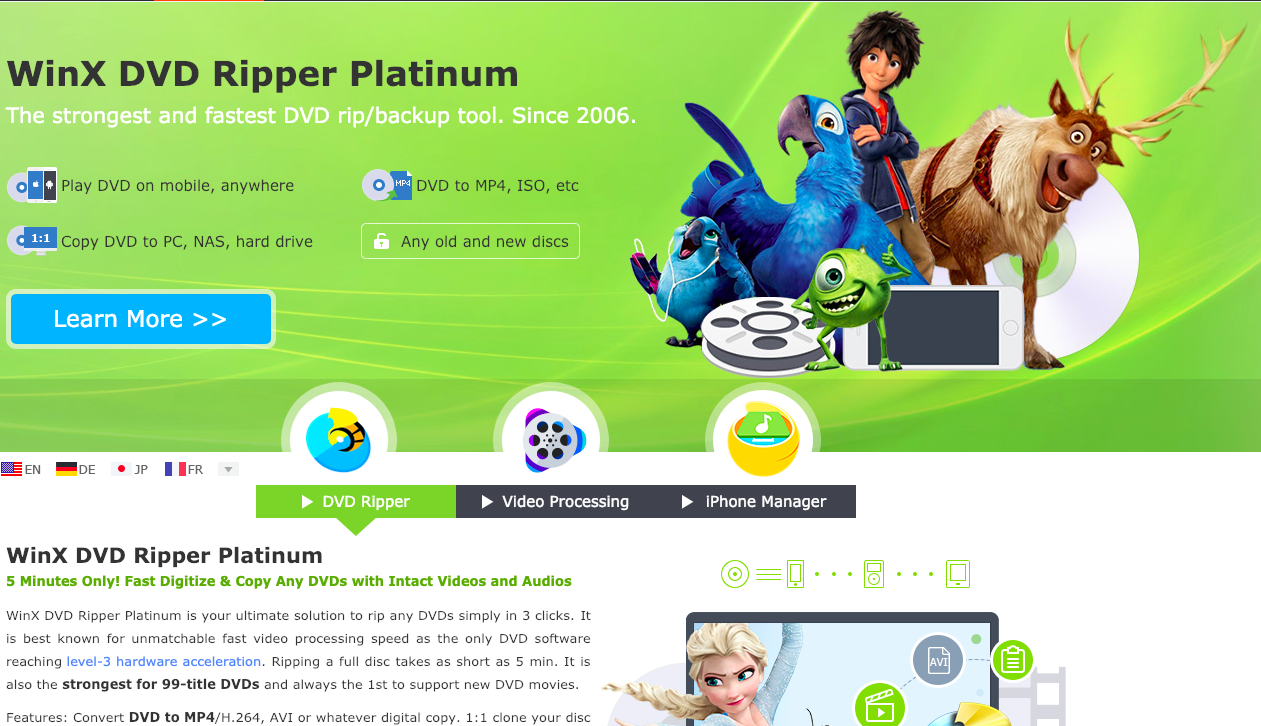 How to FreeRip DVD to Windows with Handbrake or WinX DVD Ripper
